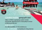 Black Friday - wczasy, urlopy, wakacje