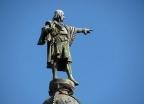 Kolumna Krzysztofa Kolumba w porcie, Barcelona. - wczasy, urlopy, wakacje