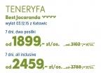 Teneryfa od 1899 PLN - wczasy, urlopy, wakacje
